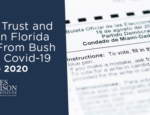 Restoring Trust and Security in Florida Elections From Bush v. Gore to Covid-19
