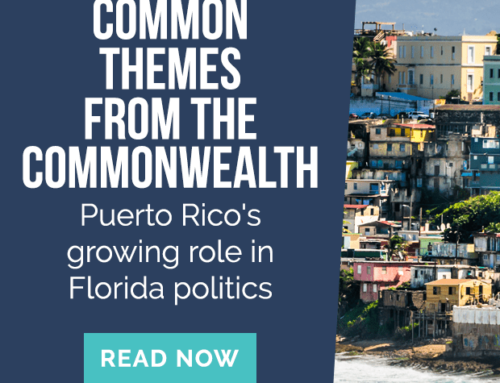 Common Themes from the Commonwealth: Puerto Rico's growing role in Florida politics