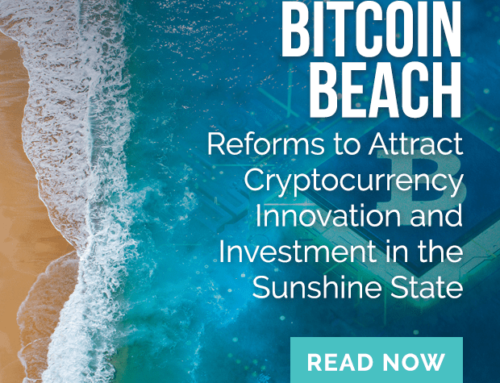 Bitcoin Beach: Reforms to Attract Cryptocurrency Innovation and Investment in the Sunshine State